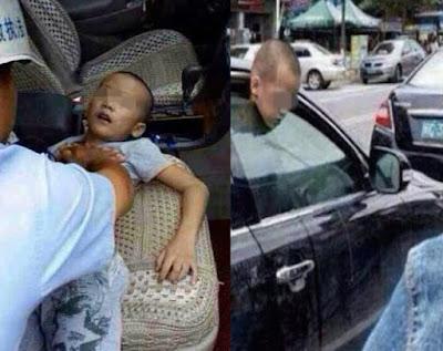 تركت طفلها فى السيارة بمفردة ونزلت تتسوق  وحدثت المفاجأة الغير متوقعة لن تتخيل ماذا حدث !!