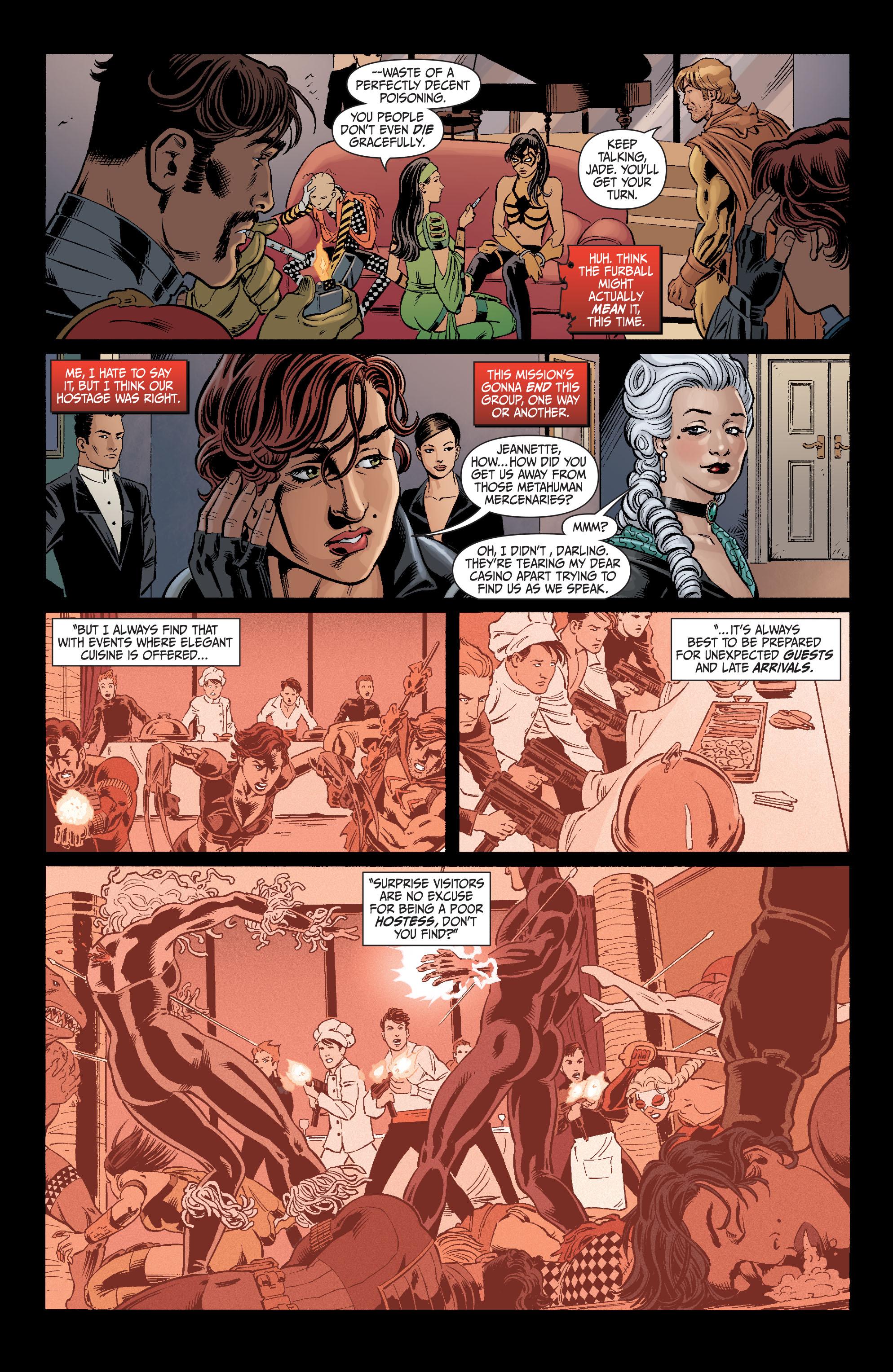 Read online Secret Six (2008) comic -  Issue #5 - 16