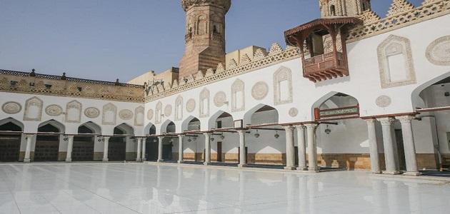 أشهر المساجد التاريخية في مصر وأماكنها