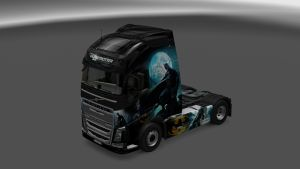 Batman Skin for Volvo 2012