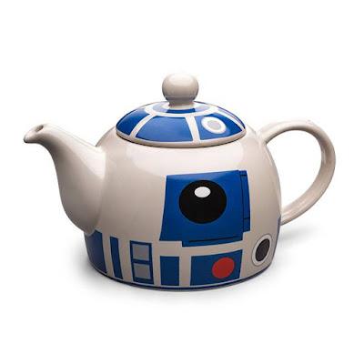 Starwars R2-D2 Ceramic Teapot