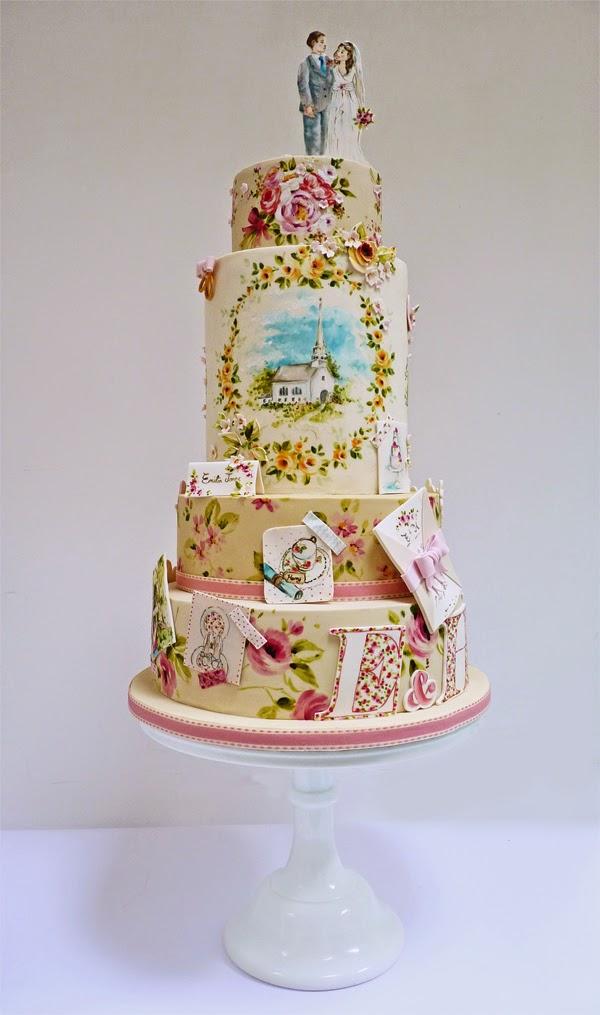 Wedding Cake Painting