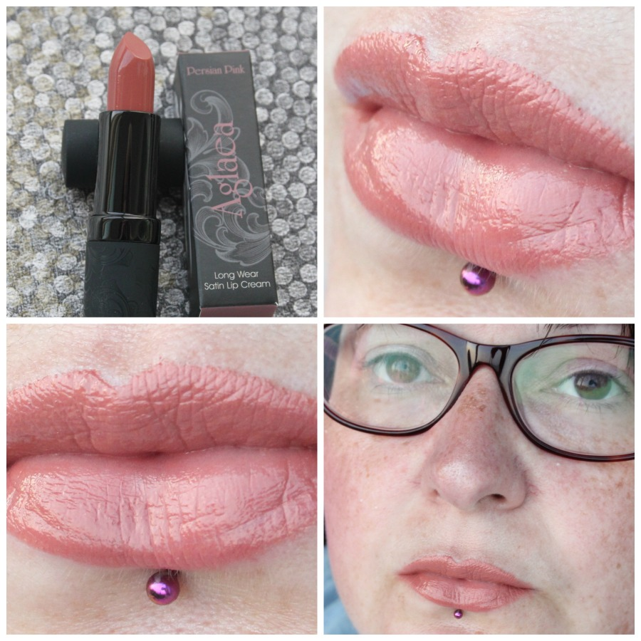 MeMeMe Long Wear Satin Lip Cream in Persian Pink