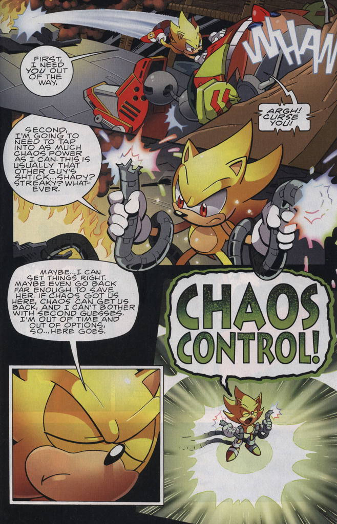 Read online Sonic The Hedgehog comic -  Issue #229 - 29