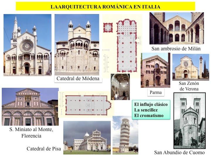 profesor de historia geograf a y arte arte rom nico On arquitectura romanica caracteristicas