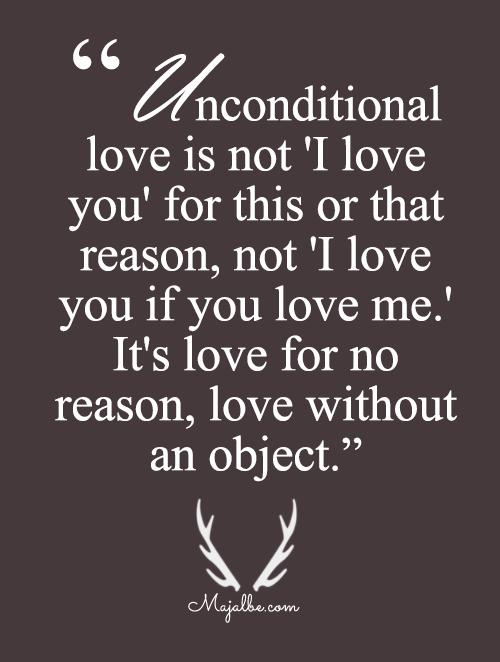 Loving For No Reason