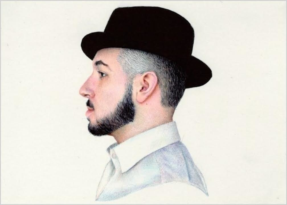 02-Self-Portrait-Nicolas-V-Sanchez-Inspired-Subjects-for-Colored-Ballpoint-Pen-Drawings-www-designstack-co