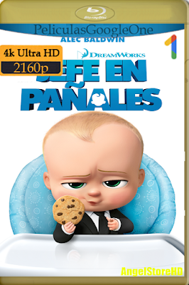 Un Jefe En Pañales (2017) [4K UHD [HDR] [Latino-Inglés] [Google Drive] – By AngelStoreHD