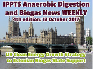 UK Clean Energy Growth Strategy to Estonian Biogas article image.