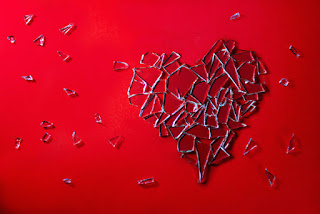 broken heart broken glass heartbreak