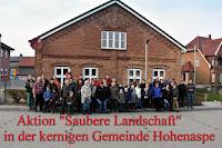 CDU lädt zum Müllsammeln in Hohenaspe ein und viele Bürger nehmen daran teil