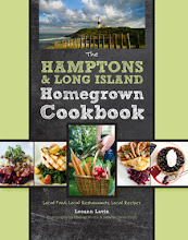 My book, The Hamptons & Long Island Homegrown Cookbook