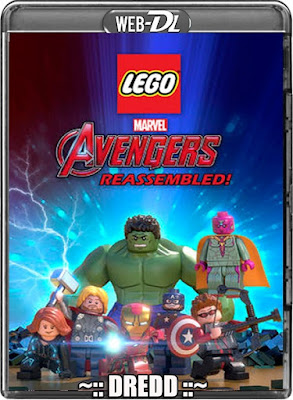 Lego Marvel Super Heroes Avengers Reassembled 2015 Dual Audio 720p WEBRip 200mb