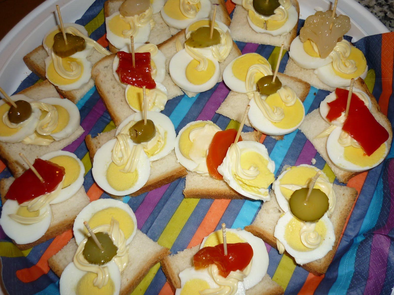 Famoso Le Ricette della Nonna: Tartine all'uovo, maionese e sottaceti YA42