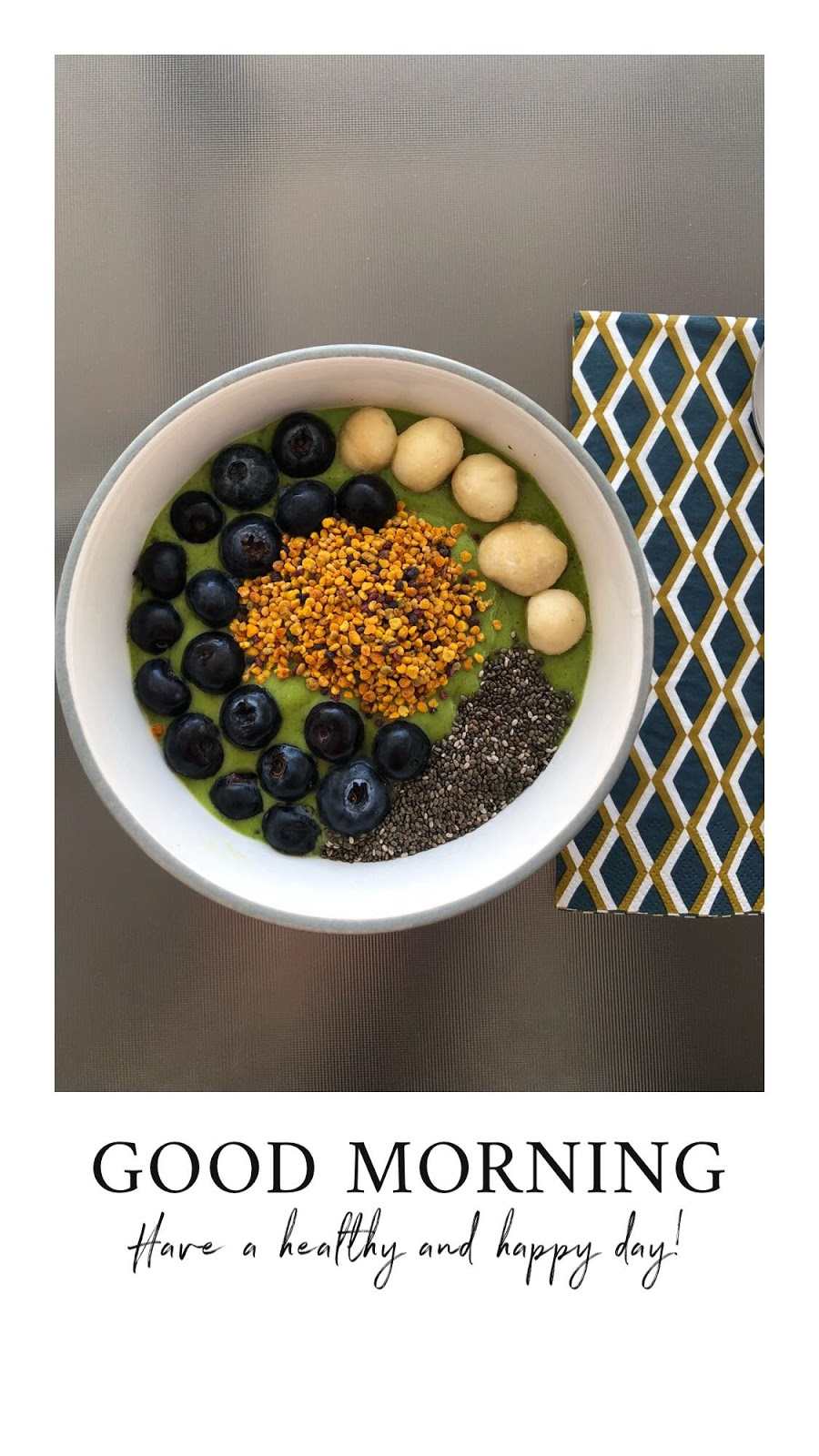 Fitness And Chicness-Smoothiebowl Mango y Espinacas-3