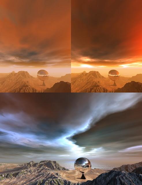 Bryce 7.1 Pro - HDRI Enhanced Skies