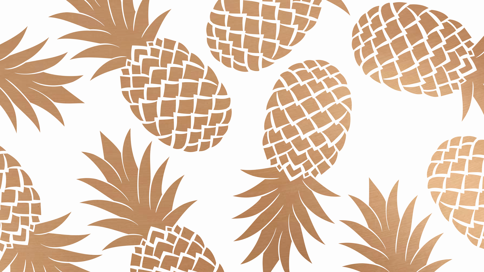 FREEBIES // PRETTY PINEAPPLE DESKTOP WALLPAPERS - Oh So ...