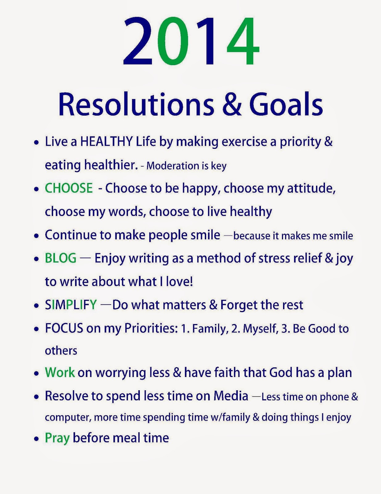 Choose Happy How Are Your New Year S Resolutions Coming Along After 5 Months