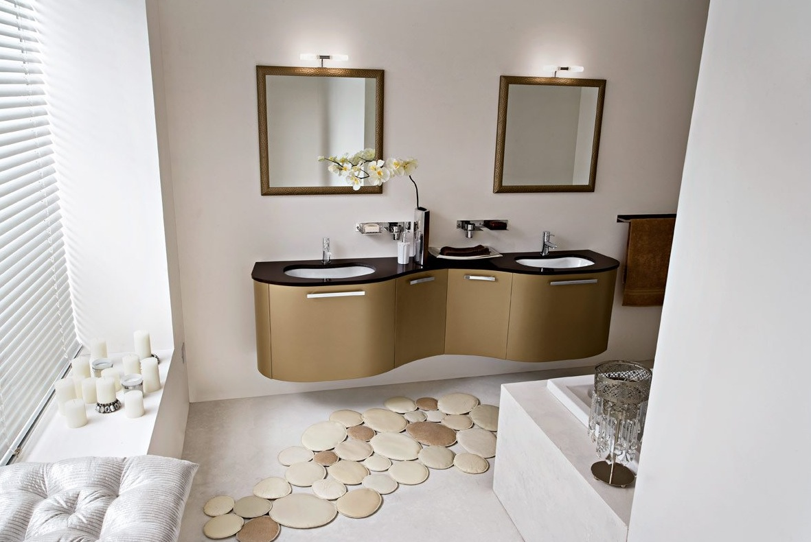 Home Interior Design & Decor: 50 Modern Bathrooms--Set 3