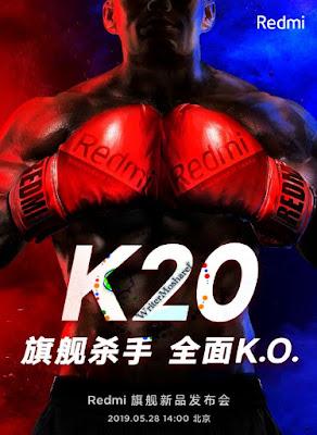 Xiaomi के Redmi K20 फ्लैगशिप चीन में 28 मई को लॉन्च होगा