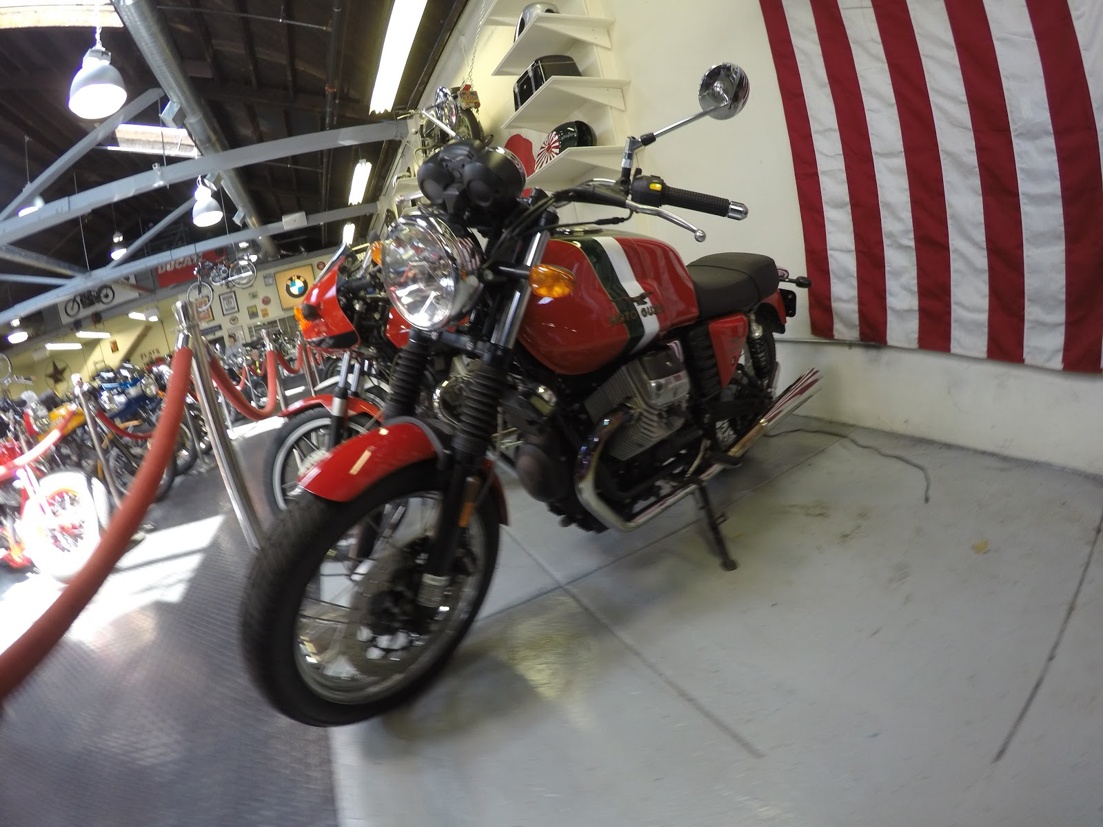 NYDUCATI presents Billy Joel's 20th Century Cycles Moto Guzzi Le Mans 2