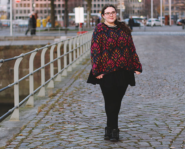 90s vintage jumper plus size