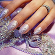 Lavender Shiny Gorgeous Nail Art