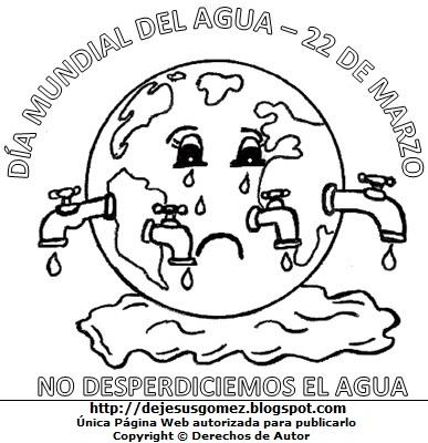 Dibujos Fotos Acrostico Y Mas Dibujos Por El Dia Mundial Del Agua