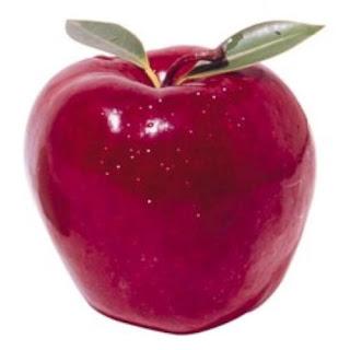 #PraCegoVer: Uma suculenta maçã.