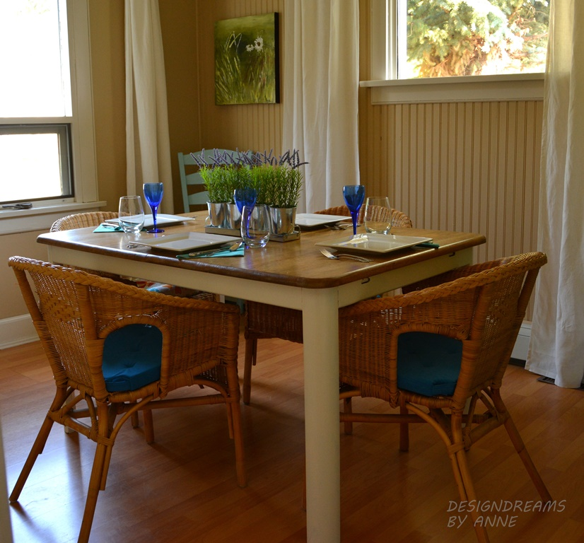 DesignDreams By Anne: Cottage Dining Room With Painted