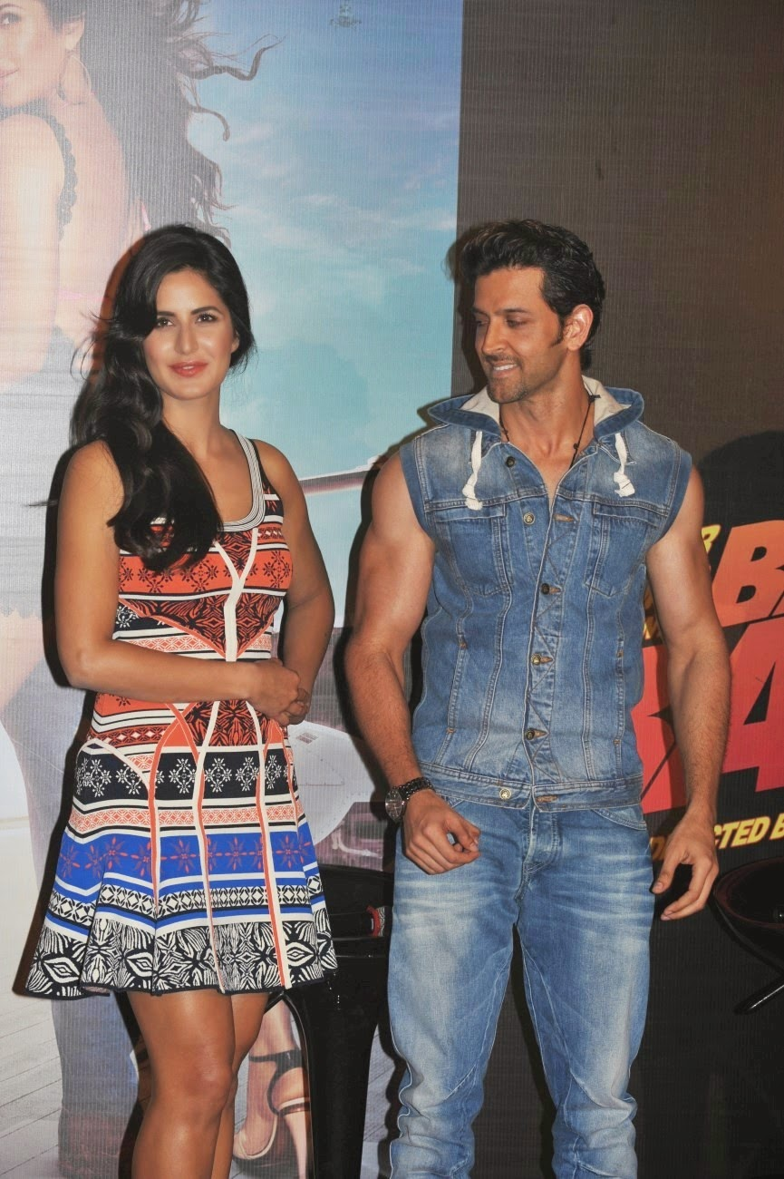 Hrithik Roshan & Katrina Kaif launch a song of 'Bang Bang!