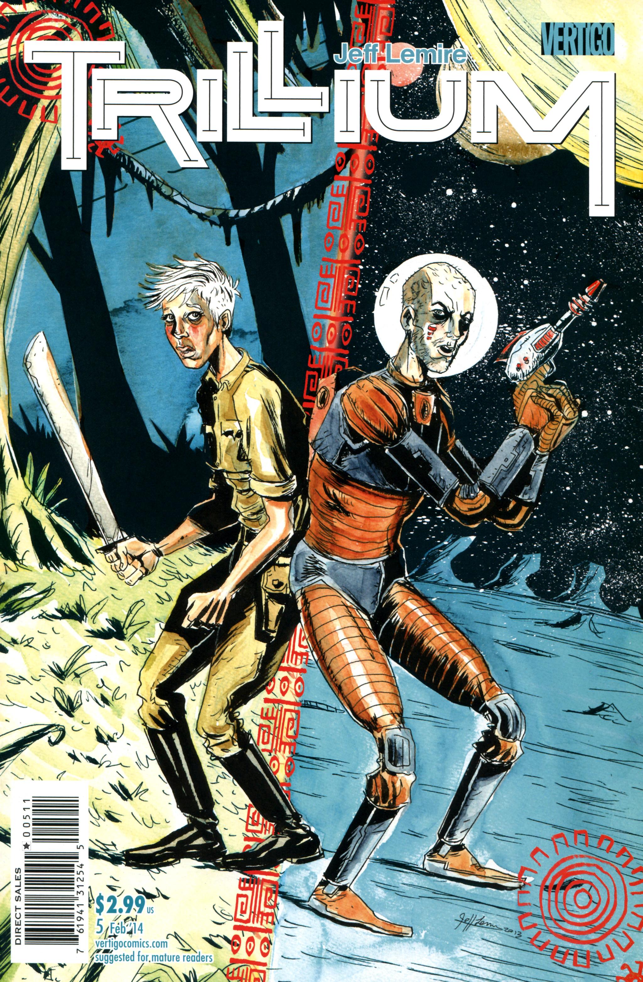 Read online Trillium comic -  Issue #5 - 1