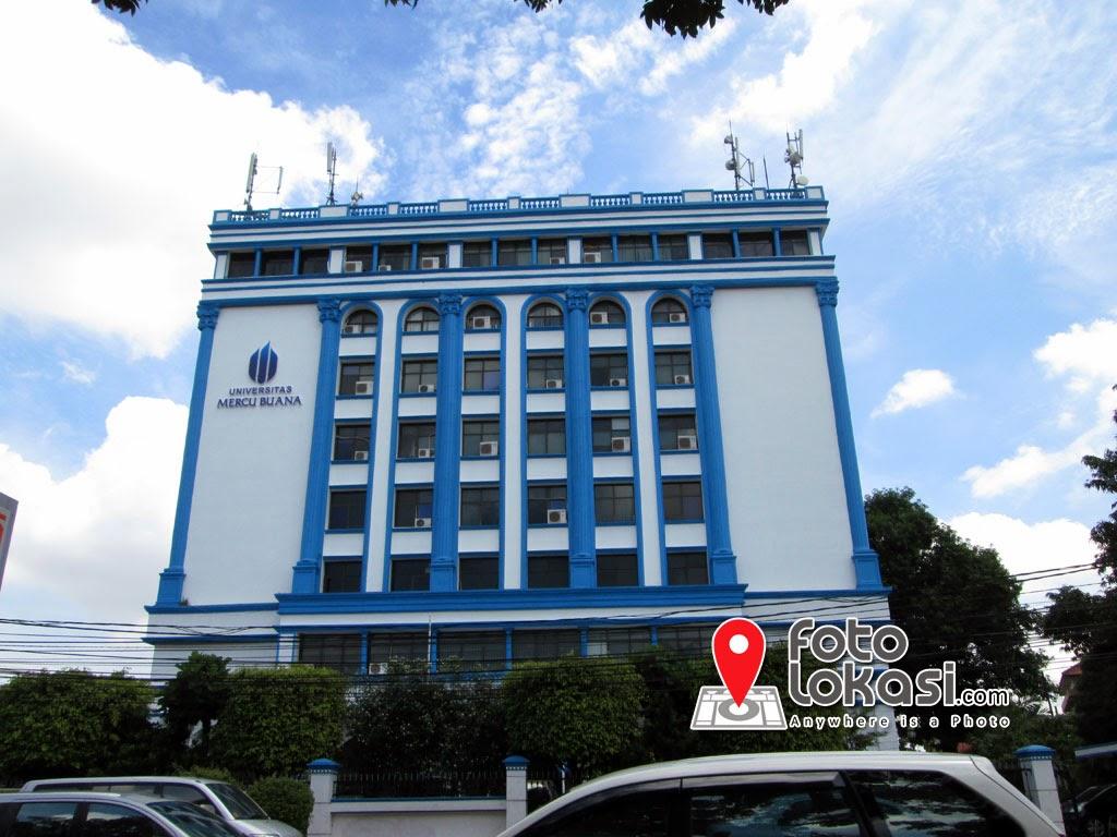 Manajemen Operasional Beri Universitas Mercu Buana Kampus B Foto Lokasi