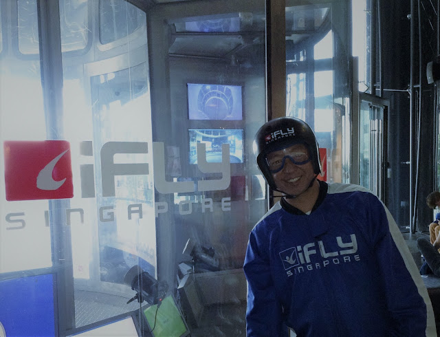 Experience iFly Singapore at Sentosa