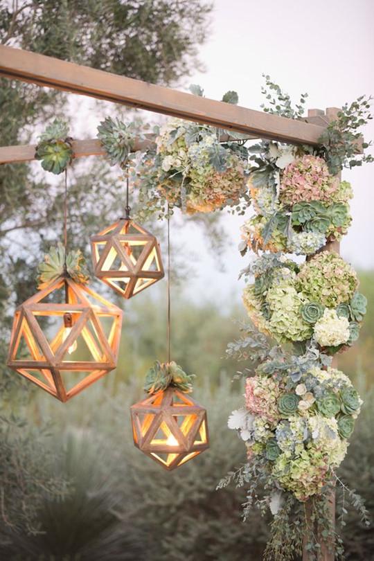 Styled Shoot Madison James Collection wedding lighting