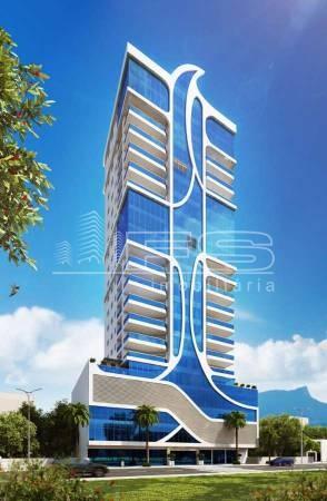 ENC: 1438 - Residencial Águas Cristalinas - Cobertura Duplex com 5 suítes e Piscina - Meia Praia - Itapema/SC
