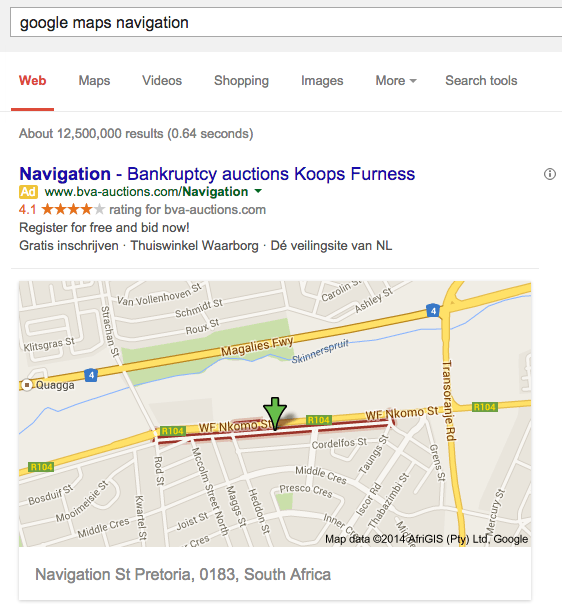 obscure google maps results. Black Bedroom Furniture Sets. Home Design Ideas