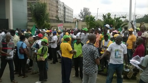 buhari anti corruption protest