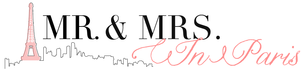 Mr. and Mrs. in PARIS