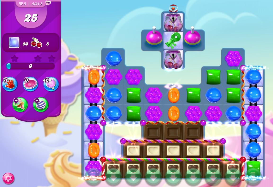 Candy Crush Saga level 4311