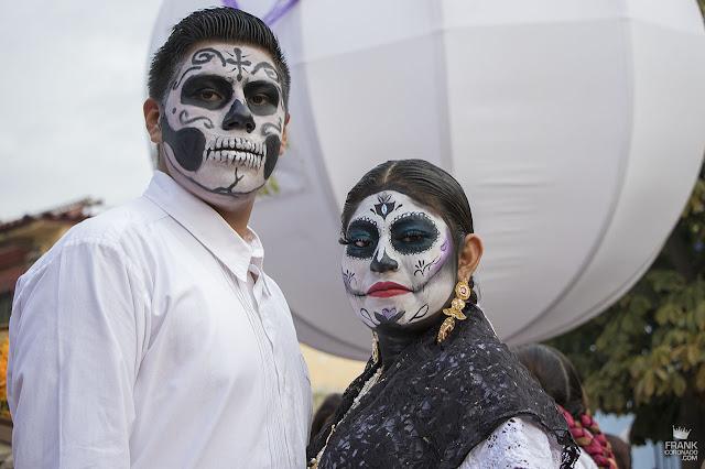 Catrines en el día de muertos en Oaxaca