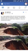 Joe Igbokwe Raises Alarm over Gully Erosion In His Town(pictures)
