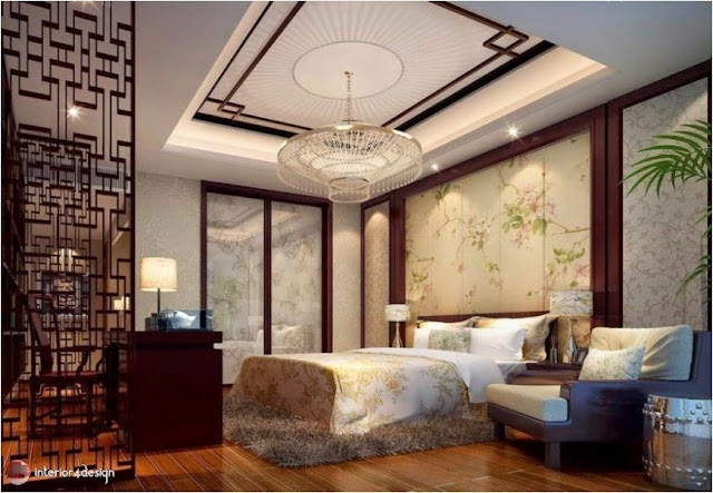 Gypsum Bedroom Designs 7