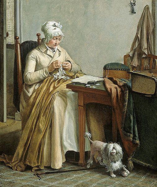 ручное шитье в 19 веке