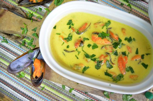 como se cuece mejillones, como se hace mejillones, curry recetas, mejillones, mejillones al curry, mejillones recetas, recetas curry, recetas mejillones, las delicias de mayte,