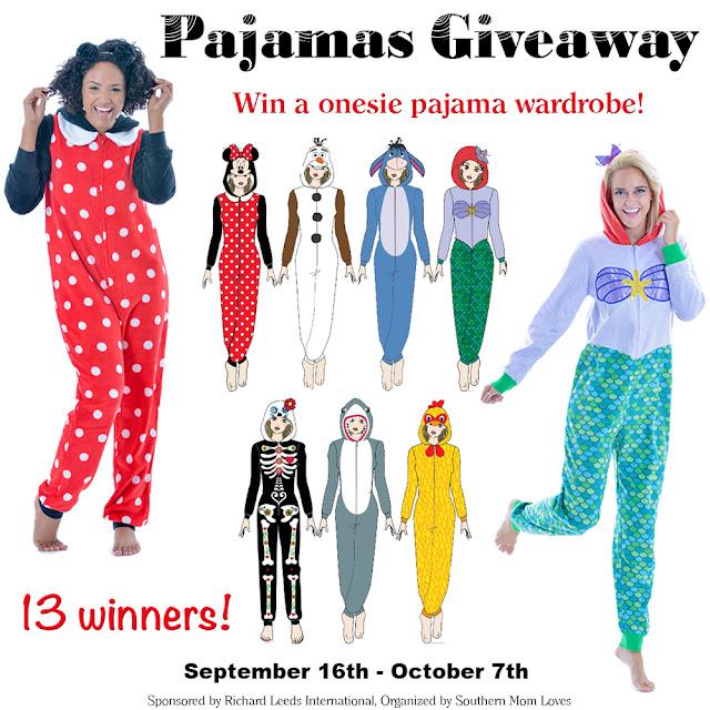 13 Winners! Character Onesie Wardrobe Giveaway