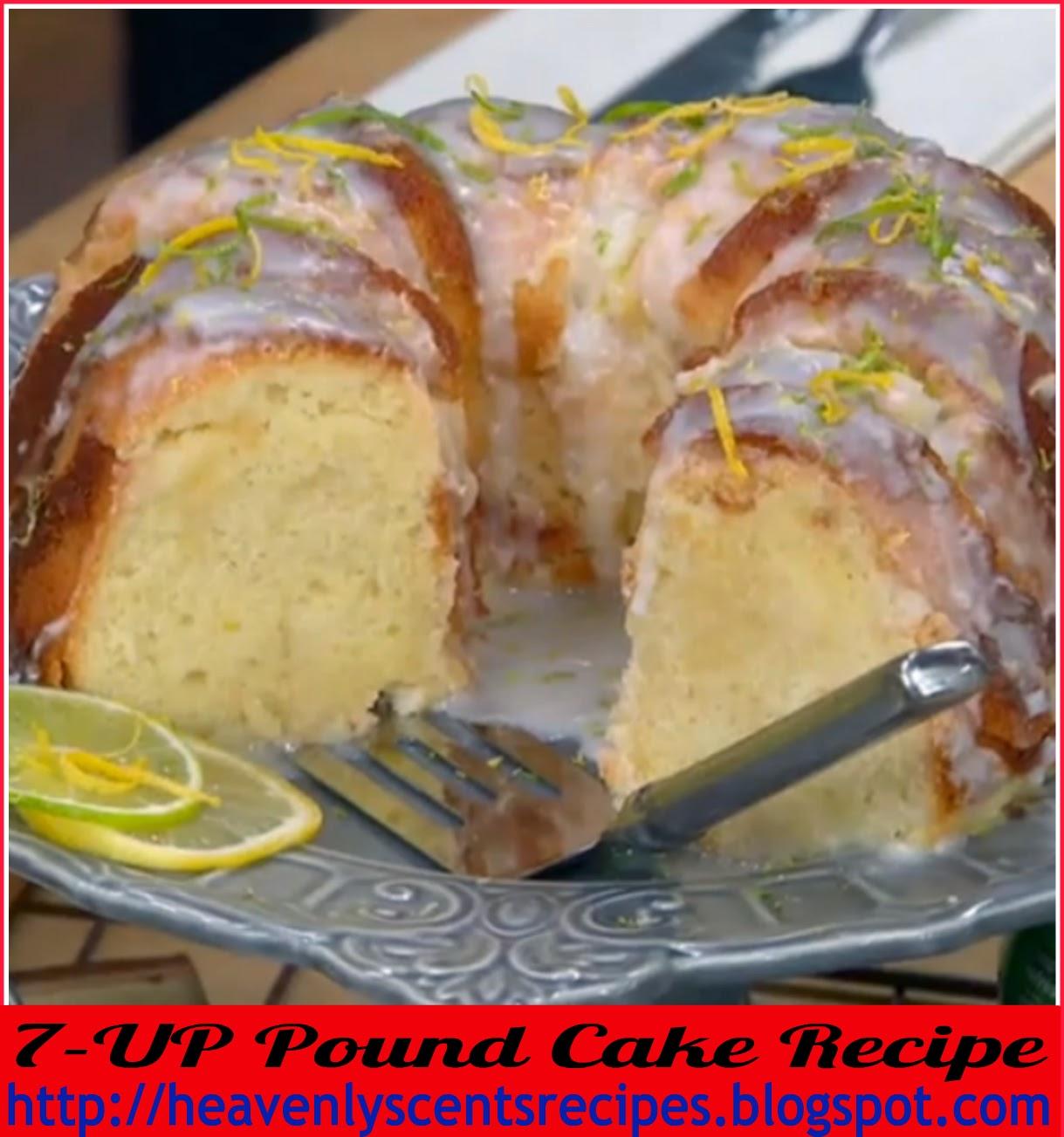 7Up Pound Cake Recipes