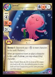 My Little Pony Jamal, Seaweed Wrap Seaquestria and Beyond CCG Card