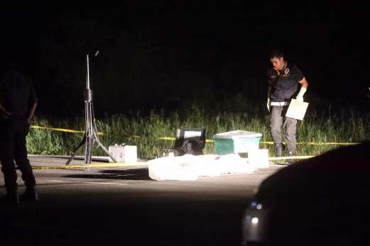 Dua Penjenayah Maut Berbalas Tembakan Dengan Polis