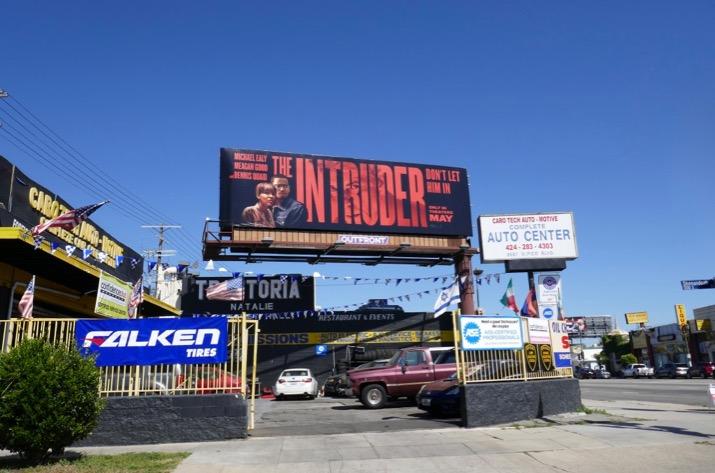 The Intruder billboard